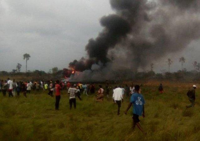 俄外交部:刚果民主共和国军机失事导致3名俄籍公民遇难