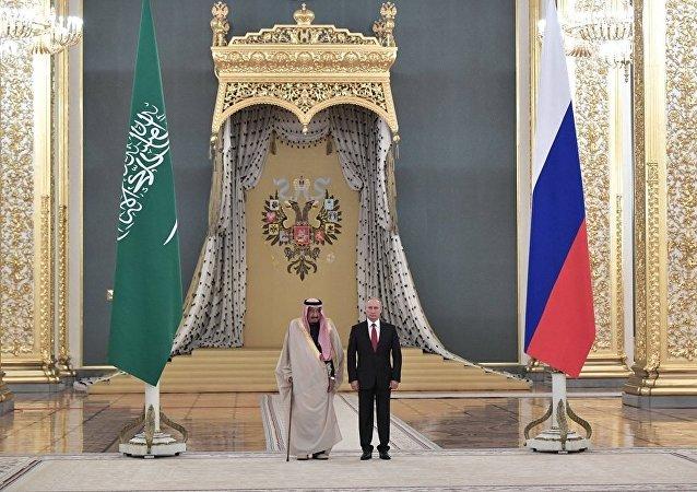 普京称沙特国王访俄是具有标志性的事件