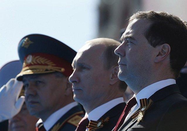 民调:俄罗斯最受民众信任的政治人物为总统、国防部长和总理
