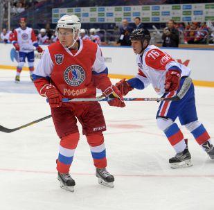 普京或在世锦赛后与俄国家冰球队打球