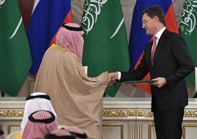 俄能源部长:俄油服公司正就进入沙特市场进行谈判