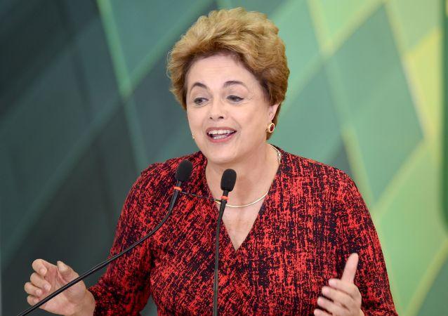 巴西前总统卢塞夫称形成金砖机制是21世纪主要成就