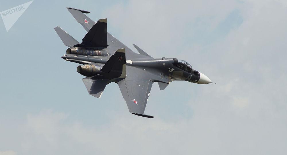 白俄国防部:明斯克望莫斯科2019年开始向其供应苏-30SM飞机