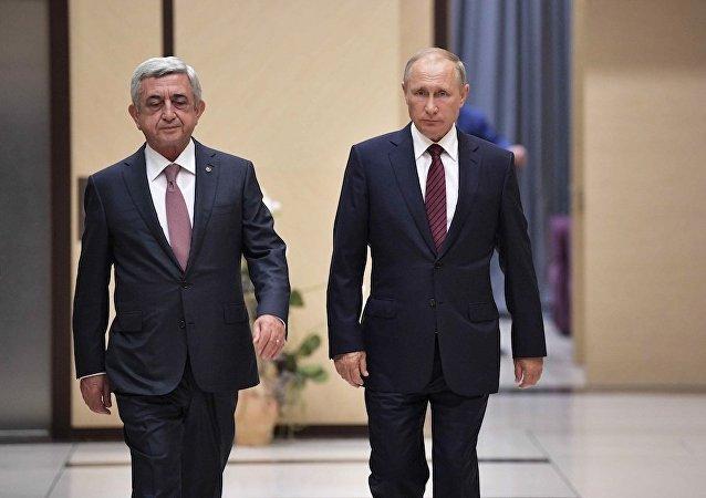 亞俄兩國總統