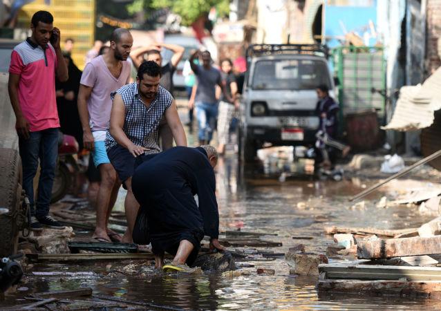 开罗的恐怖袭击