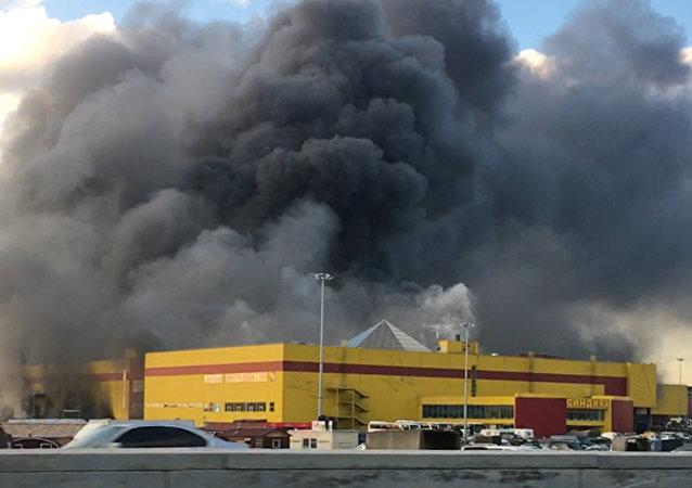 "SINDIKA""商场于10月8日白天起火"