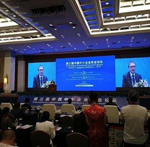 第三届俄中中小企业商务论坛