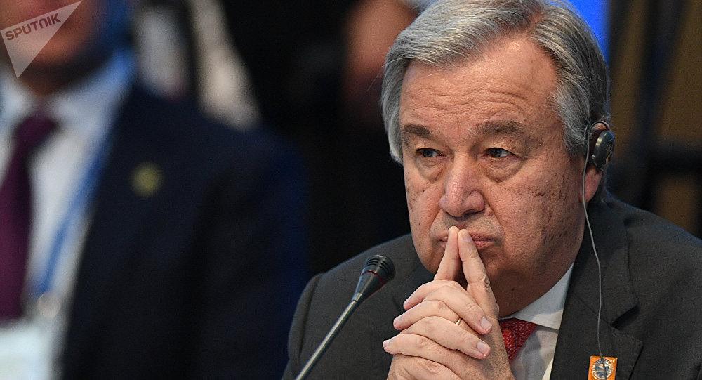 聯合國秘書長要求禁化武組織深入調查敘境內化武攻擊消息