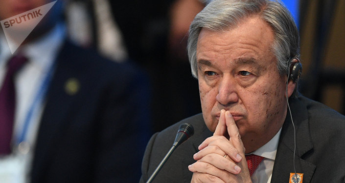 联合国秘书长要求禁化武组织深入调查叙境内化武攻击消息