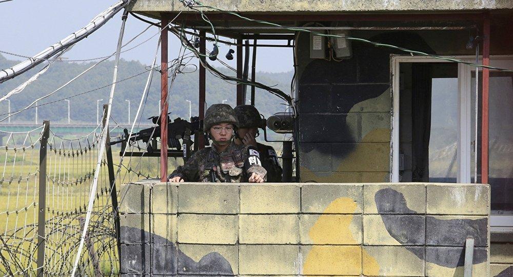 朝军追捕脱北士兵时侵犯了韩国边界