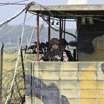 朝軍追捕脫北士兵時侵犯了韓國邊界