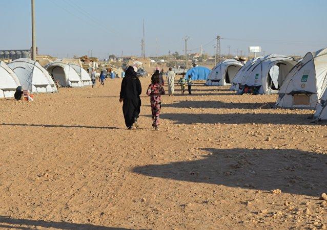 叙利亚难民营