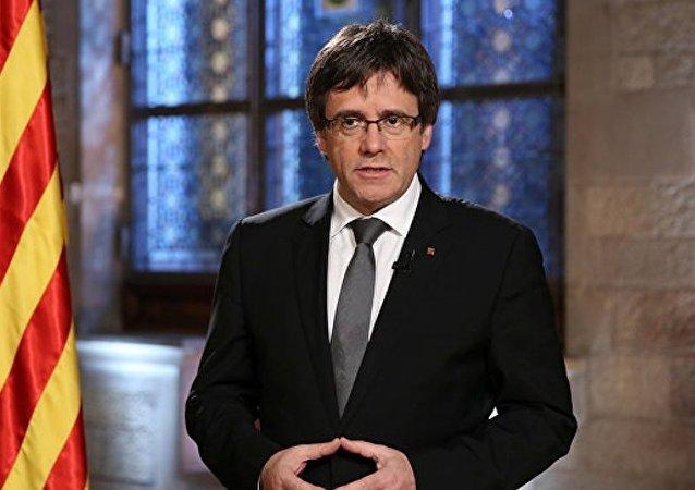 普伊格蒙特:加泰罗尼亚已经获权独立