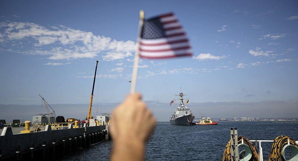 美国海军高速多用途登陆艇进入黑海