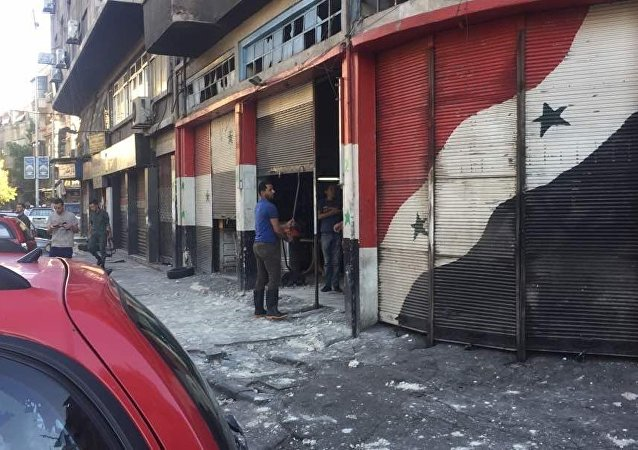 叙利亚首都发生手榴弹爆炸事件致1死7伤