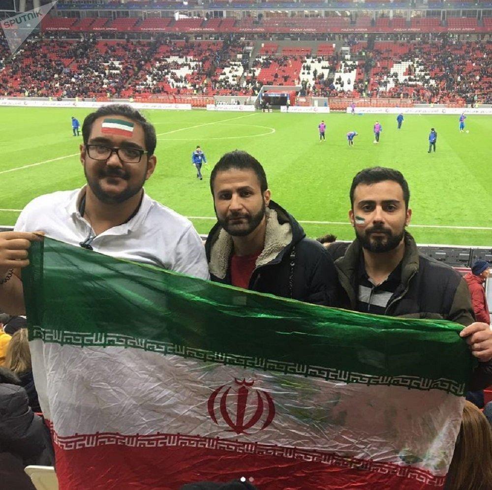 伊朗球迷評俄羅斯2018年世界杯的籌備情況