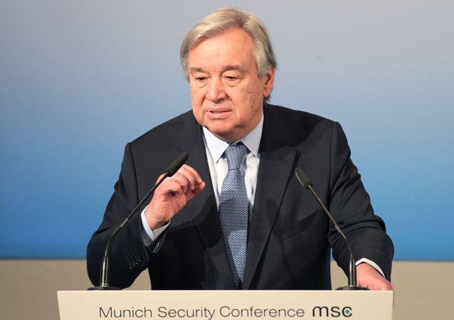 聯合國秘書長感謝俄羅斯在索契主辦敘利亞全國對話大會