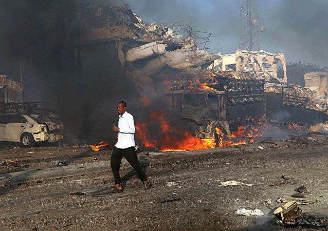 5名红新月会志愿者在索马里首都爆炸中遇难