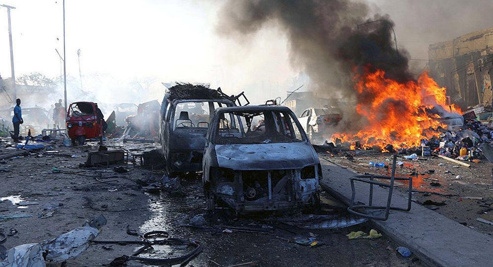 索马里政府:首都爆炸案造成的死亡人数升至276人 约300人受伤