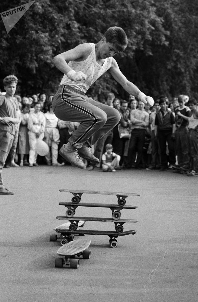 一組罕見的蘇聯青年照片
