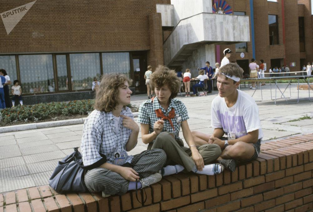 第十二屆世界青年與大學生節,莫斯科,1985年