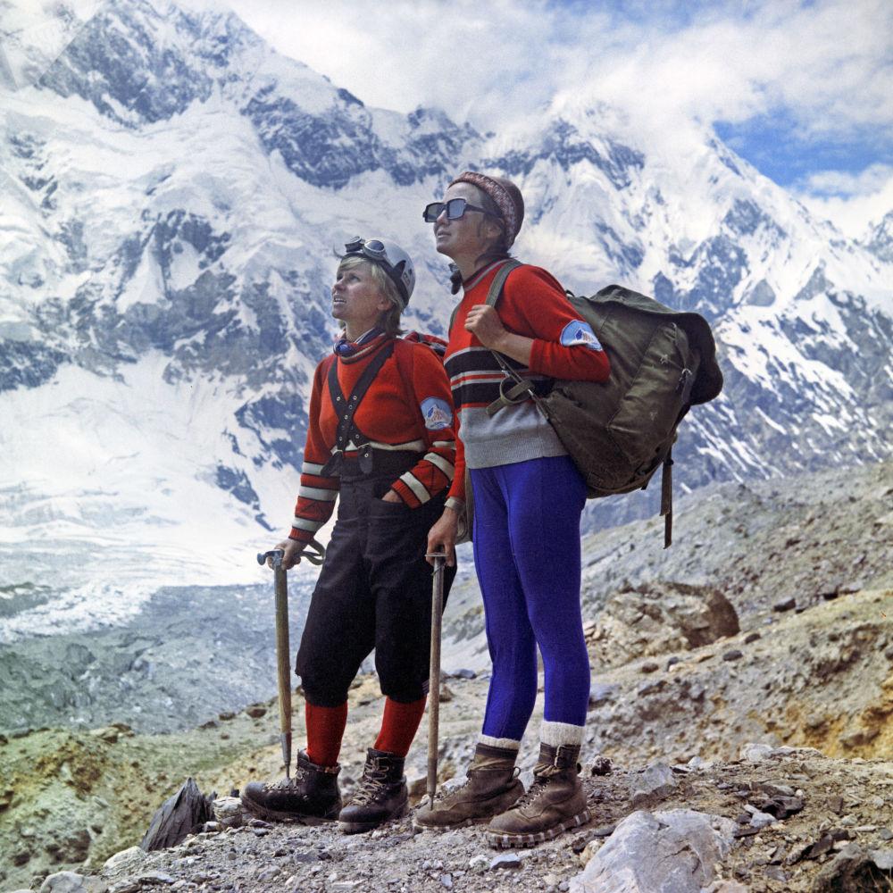 帕米爾高原登山者,1972年