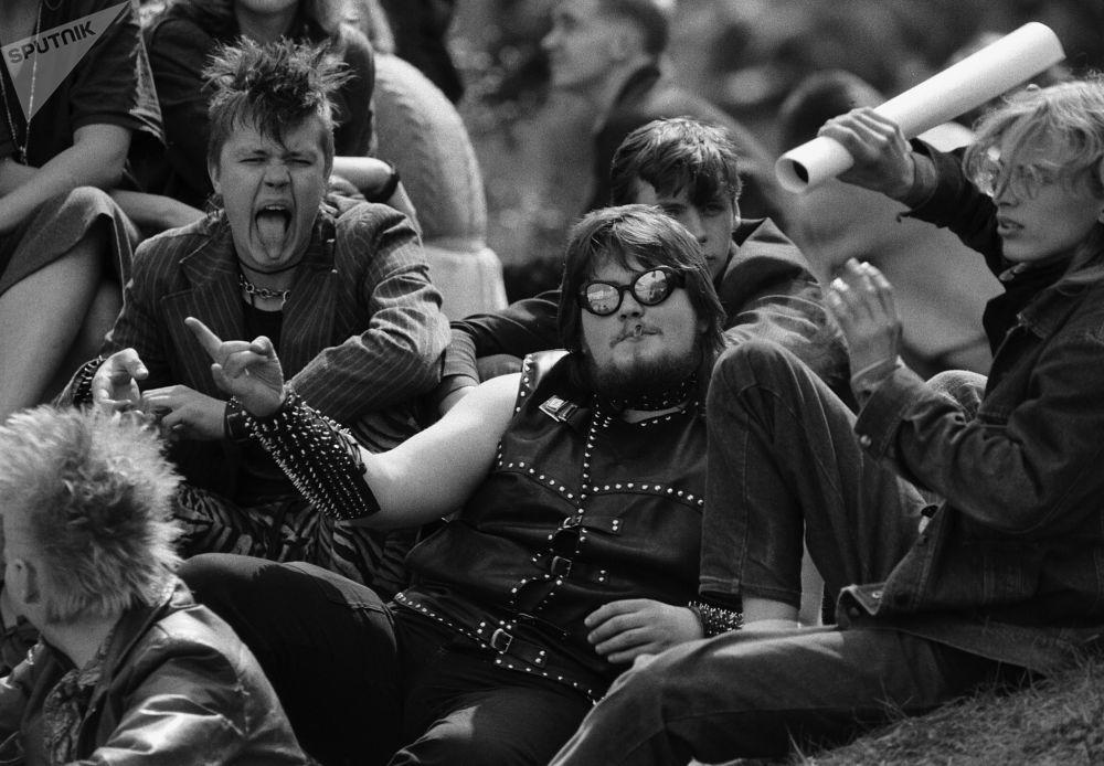 音樂節觀眾,蘇聯時期的愛沙尼亞,1987年