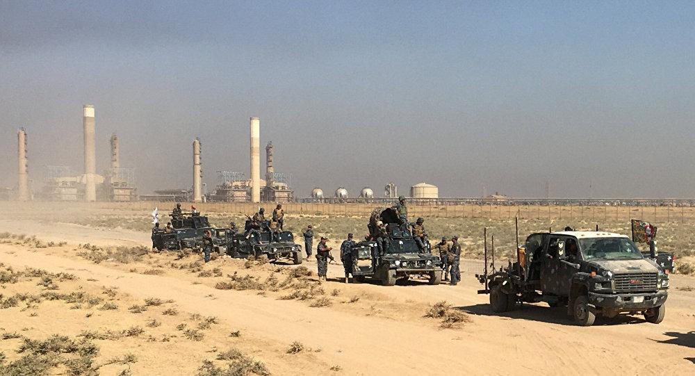 基尔库克石油和军事设施