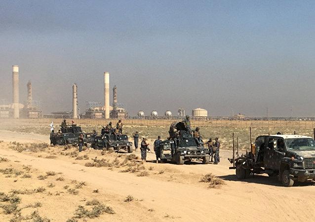 基爾庫克石油和軍事設施