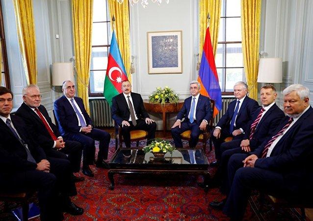 联合国秘书长呼吁阿塞拜疆与亚美尼亚总统和平解决纳卡冲突
