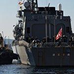 日本海上自卫队舰艇结束5天访问后驶离符拉迪沃斯托克