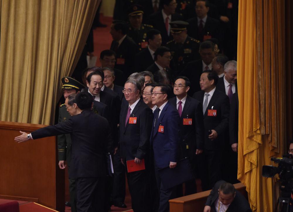 出席十九大開幕式的代表