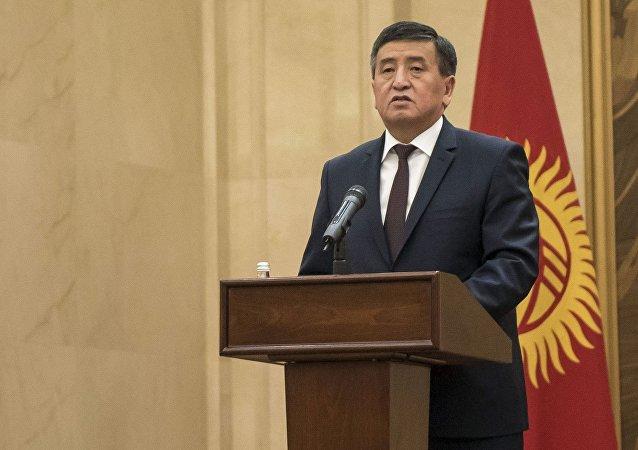 吉尔吉斯斯坦总统索隆拜•热恩别科夫