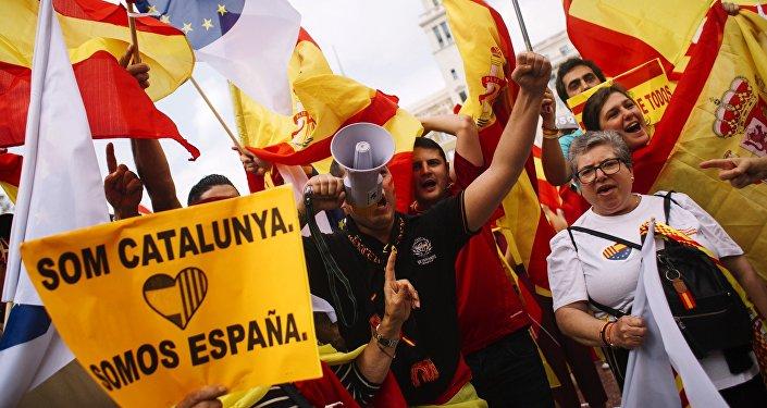 普京表示,欧洲从前就应该考虑加特罗尼亚局势