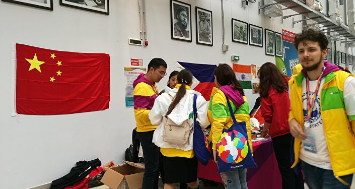 中國青年代表:世界青年大學生聯歡節對俄中未來具有重要意義