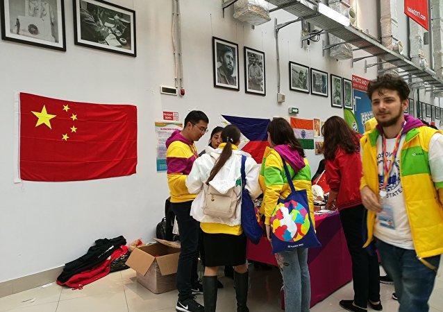中国青年代表:世界青年大学生联欢节对俄中未来具有重要意义