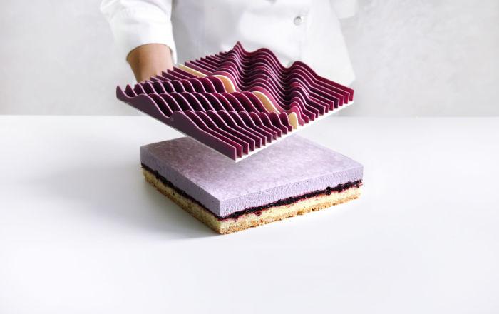 建築師製作的蛋糕:找到與實物建築相同的地方