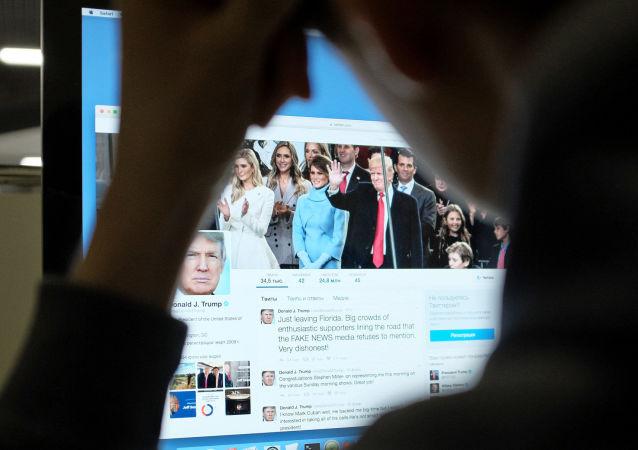 推特:特朗普账号意外断开并失联11分钟