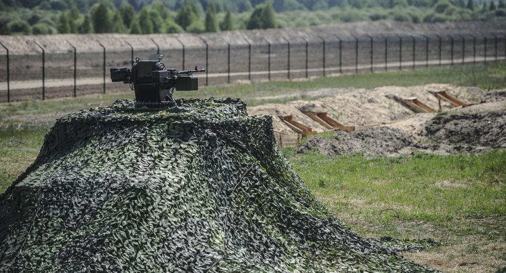 有一名試圖越過俄烏邊界的烏克蘭人中槍
