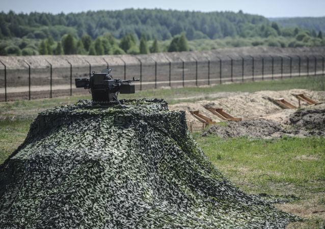 有一名试图越过俄乌边界的乌克兰人中枪