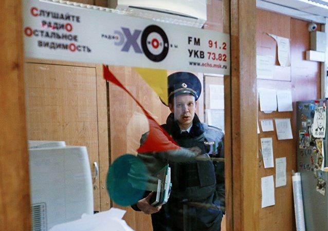 莫斯科回声电台遇袭重伤的女主持人出院