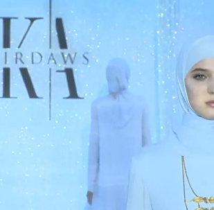 車臣領導人長女高級時裝秀