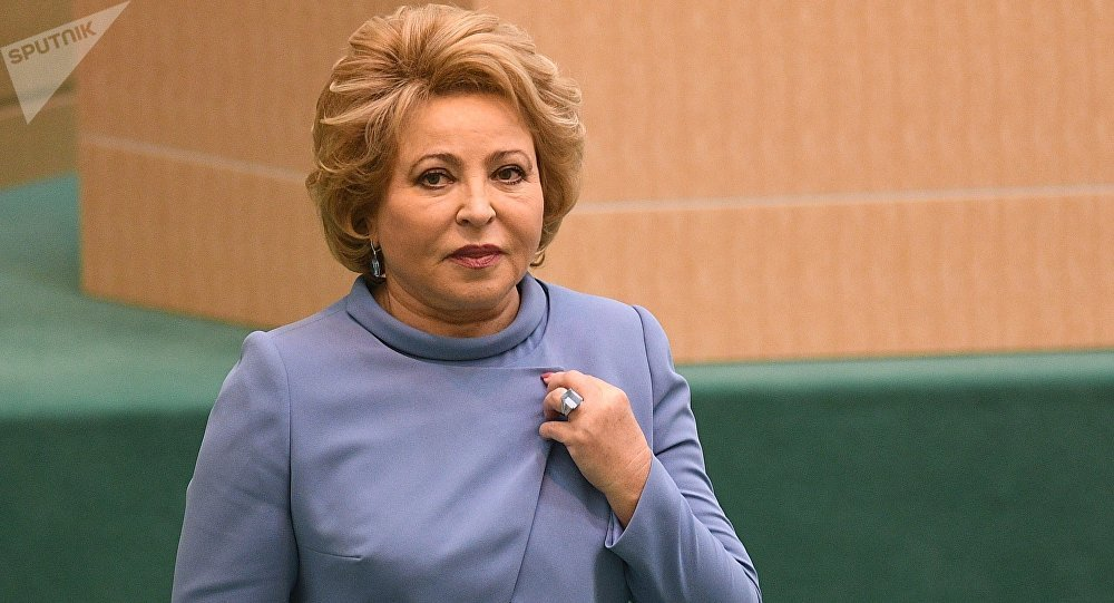 俄罗斯联邦委员会主席瓦莲京娜·马特维延科