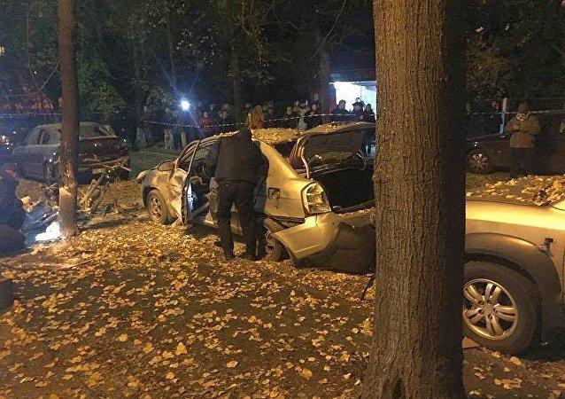导致议员莫西丘克受伤的基辅爆炸被定性为恐袭