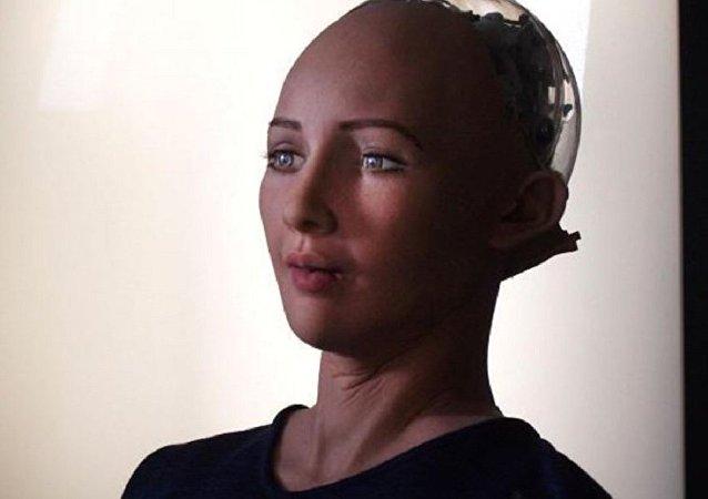 机器人索菲亚