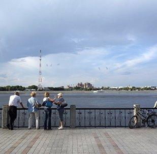中國五大連池風景區2017年接待俄羅斯療養人員9萬人次