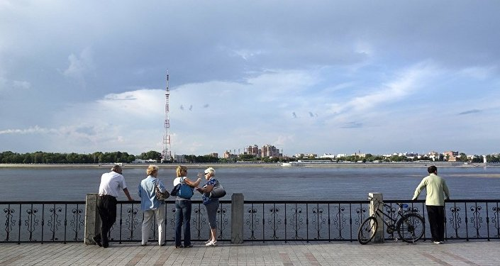 俄布拉戈維申斯克與黑河間開通氣墊船客運