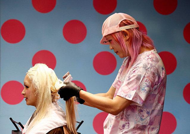 日本理发店