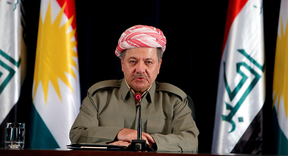 伊拉克库尔德自治区主席巴尔扎尼