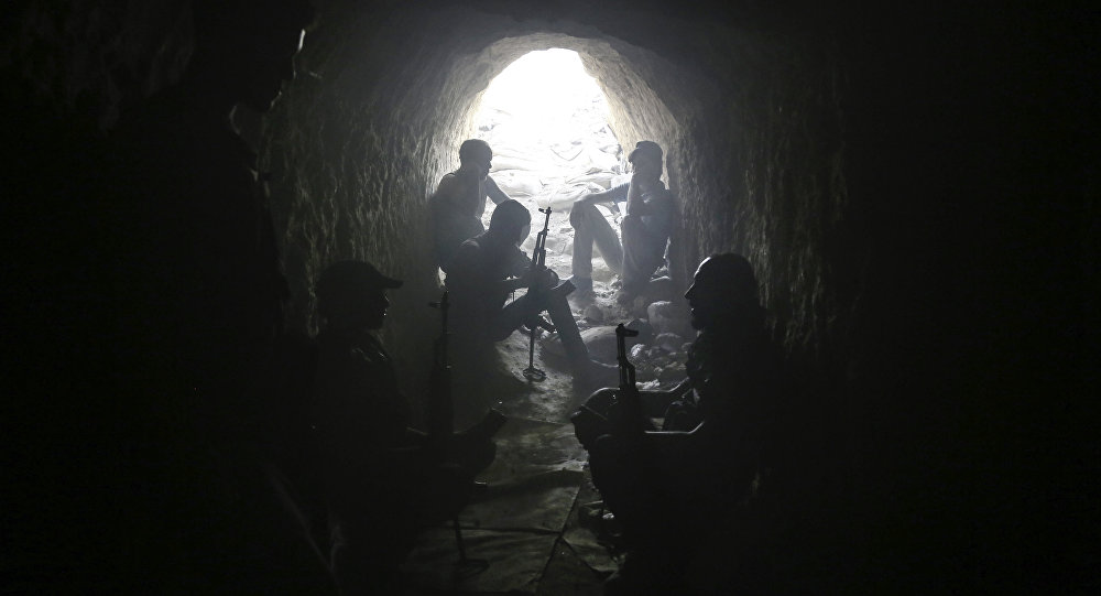 叙利亚武装分子(资料图片)